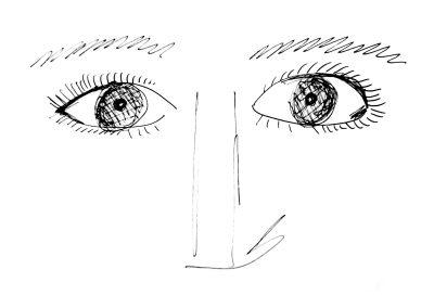 Corona eyes